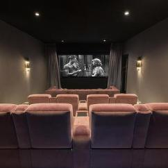 Movie Theaters With Lounge Chairs Set Of 4 Dining Pink Velvet Room Design Ideas Theatre Seating