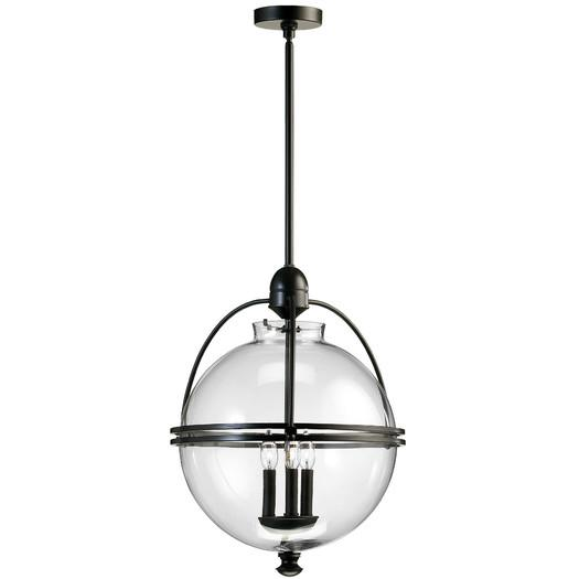 Glass Globe Chandelier at Wrapables  Pendants  Chandeliers