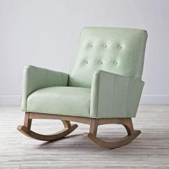 Blue Glider Chair Pc Game Pink Traditional Wooden Rocking