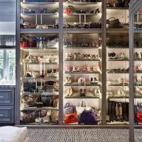 Handbag Cabinet - Contemporary - closet - Lonny Magazine