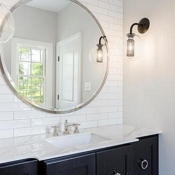 Bathroom Backsplash Marble Shelf