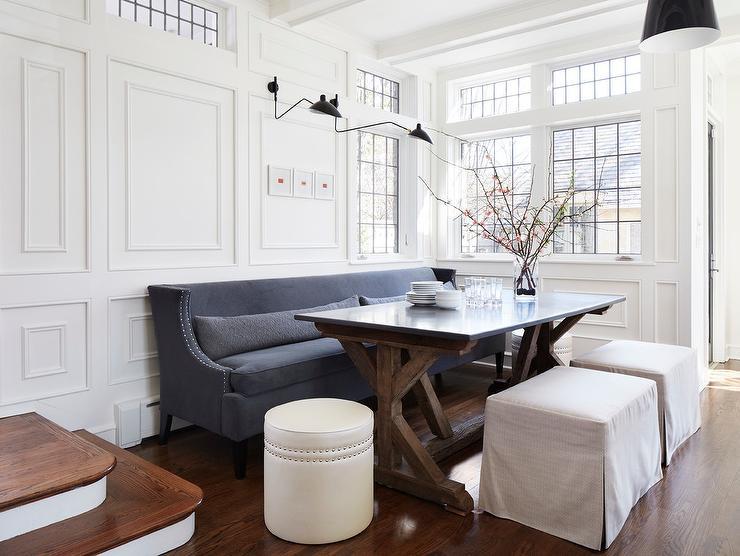 Dining Table With Sofa Seating Okaycreationsnet