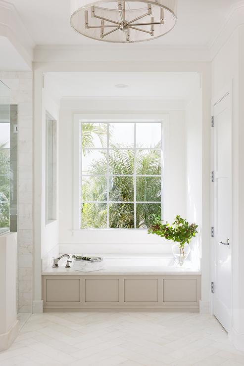 Bathtub Under Window Design Ideas