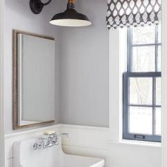 Cement Kitchen Sink Miami White Shiplap Bathroom Wall With Vintage Towel Hooks ...