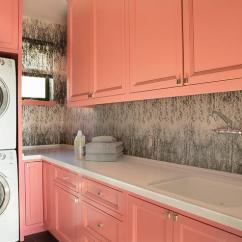 Kitchen Pull Down Faucet Kids Wood White And Yellow Laundry Room With Medallion ...
