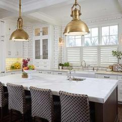 Kitchen Pendants Pictures Of Brown Island With Brass Industrial Pendant Lights