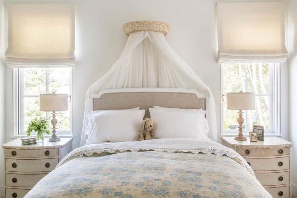 french bedroom curtains Interior design inspiration photos by Giannetti Home.