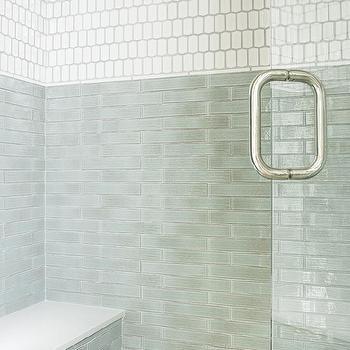 jade green shower backsplash tiles