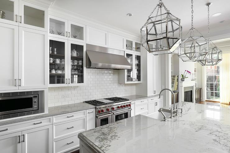 Gray And White Kitchen Decor