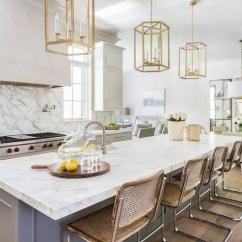 Kitchen Lanterns Modern Cabinet Hardware Gray Island With Vintage Bar Stools Transitional