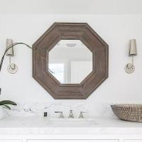 Octagonal Mirror - Traditional - bathroom - Para Paints ...