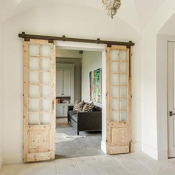 Palladian home office french doors design ideas european for Palladian home designs