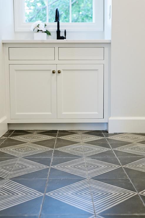 cement tile kitchen island lanterns oil rubbed bronze faucet design ideas