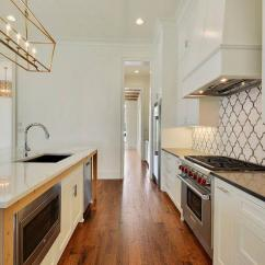 Kitchen Tiles Size Rental Nyc White And Gray Quatrefoil Backsplash ...