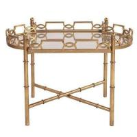 Tessa Mirrored Tray Table