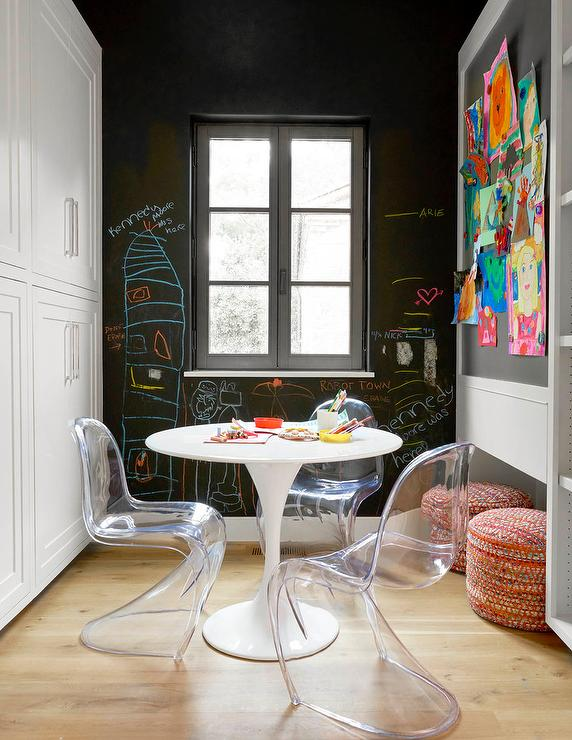 clear acrylic chair yoga certification ikea docksta table design ideas