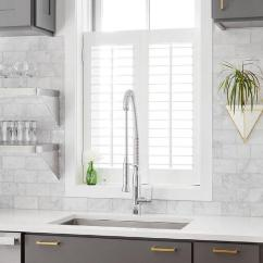 Kitchen Window Shutters Table White Sink Under Plantation Shutter Transitional
