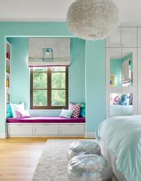 Window Seat Nook - Transitional - bedroom - Norman Design ...