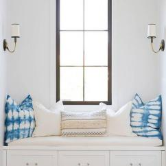 Desk Chair Seat Cushion Cover Rentals Washington Dc Dormer Window With Nook - Transitional Bedroom