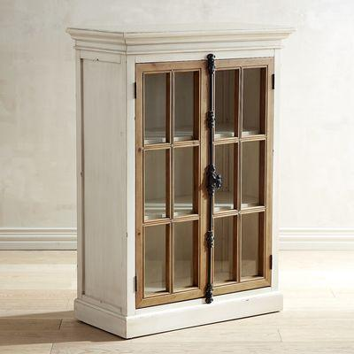 Cremone Gray Low Cabinet