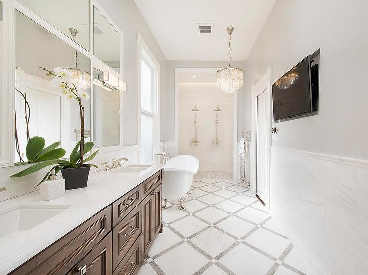 Mahogany Bathroom Vanity Design Ideas