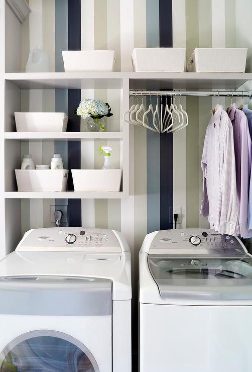 Shelves Above Washer Dryer Design Ideas