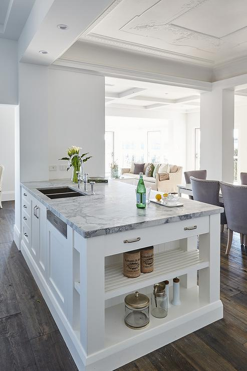 27 kitchen sink big sinks white peninsula with super dolomite ...