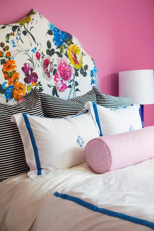 monogrammed bedding