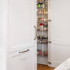 Center Island Kitchen Table Wood Floors Glass Paneled Pantry Door Design Ideas