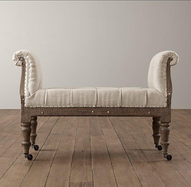 english roll arm sofa elite leather sofas deconstructed ivory burlap tufted chair