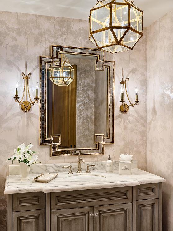 Interior Design Ideas for a Luxury Powder Room  SkyHomes
