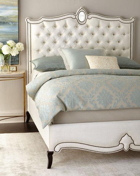 Lombok White Bed
