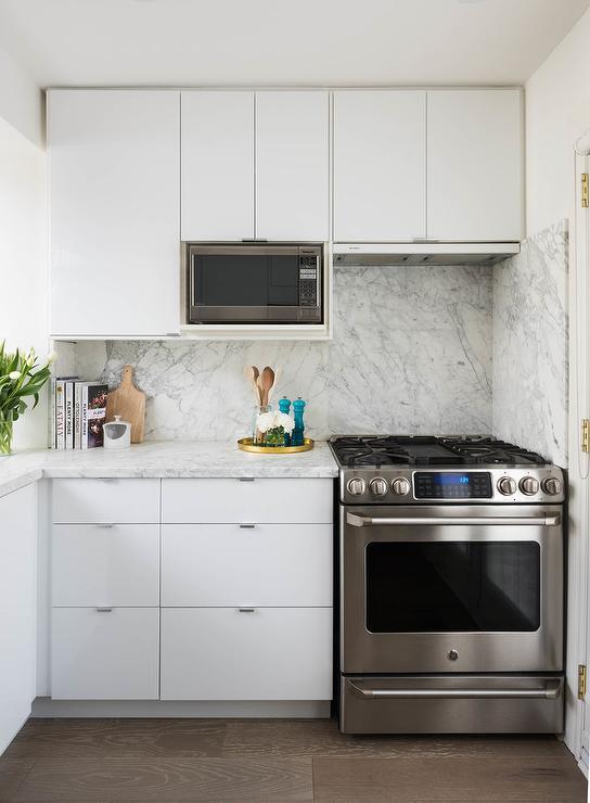 concealed kitchen hood hidden behind