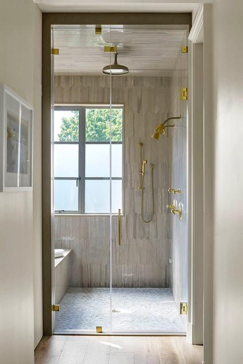 Side By Side Tub And Shower Design Ideas