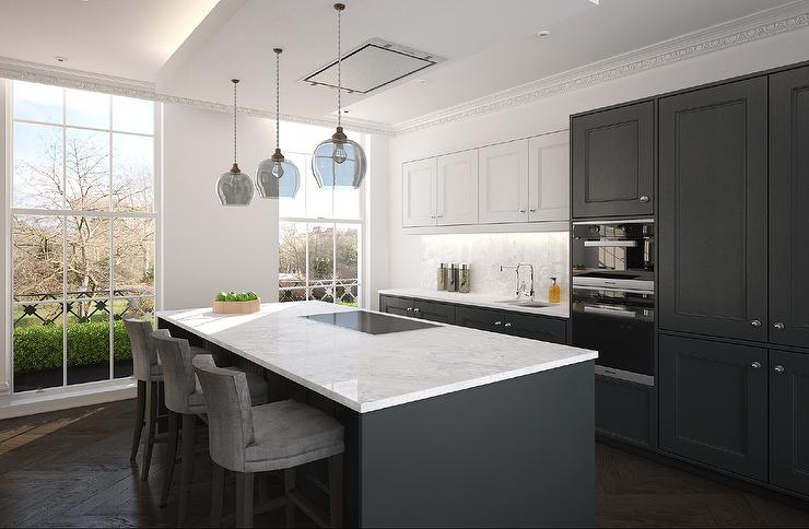 Dark Gray Quartz Countertops Design Ideas