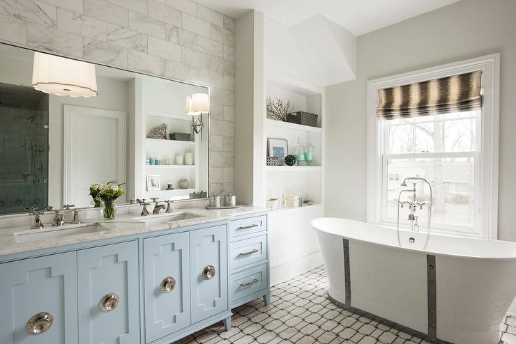 Design Collection Marvellous Pale Blue Bathroom 50 New Inspiration
