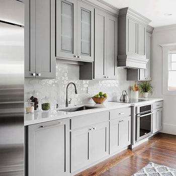 kitchen backspash tiles backsplash white honeycomb design ideas gray with