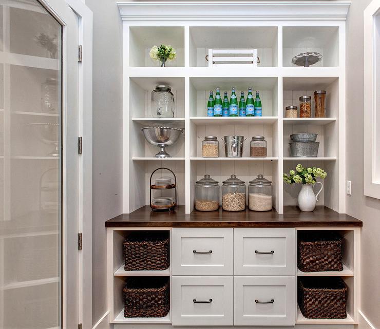 kitchen island with prep sink bamboo utensils interior design inspiration photos by timberidge custom homes.