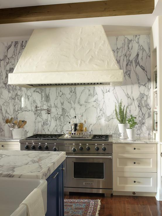 Ivory Kitchen Cabinets With Gray Backsplash Design Ideas