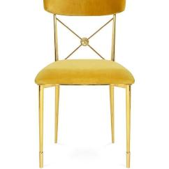 Gold Dining Chairs Swing Chair Covers Argos Jonathan Adler Golden Rider