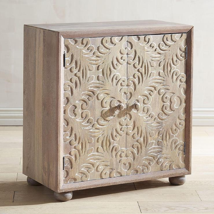 target dining room chairs hula chair ellen rose bim mirrored whitewashed accent cabinet