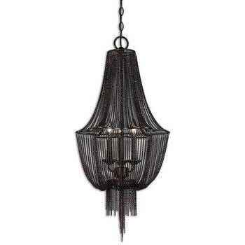 Reza Black Mini Chandelier