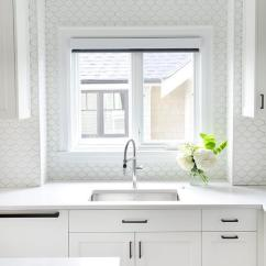 Oil Rubbed Bronze Kitchen Faucet Knife Sheaths White Cabinets With All Backsplash Tiles ...