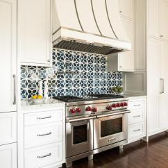 Blue Kitchen Cabinet Knobs Unassembled Cabinets Wholesale White Mosaic Backsplash Design Ideas