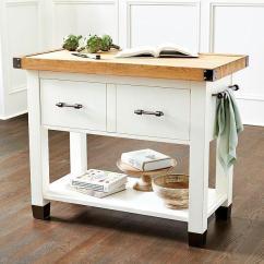 Kitchen Countertop Shelf Retro Tile Backsplash Farmhouse Butcher Block Island - Dining Room ...