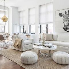 White Slipcovered Sofa Living Room Themes With Jute Herringbone Rug Contemporary
