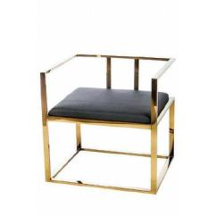 Modern Steel Chair Design Cute Room Chairs Stainless Products Bookmarks Alaia Blacl Gold Lounge