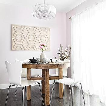 scoop back dining room chairs lounge chair outdoor folding white design ideas pink with round rclaimed wood table