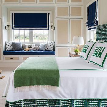 Blue And Green Boy Bedroom Color Scheme Design Ideas