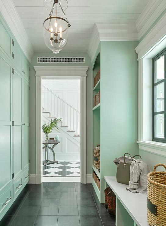 Black Beadboard Wallpaper Laundry Room Design Decor Photos Pictures Ideas